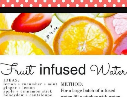 Switch The Sugary Drinks For Fruit Infused Water