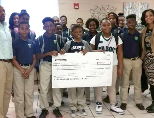 Paradigm donates to WEB DuBois Middle School