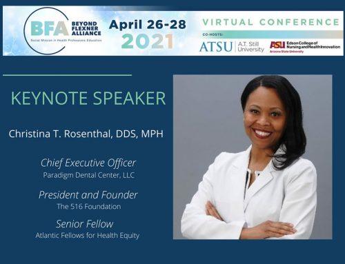 Dr. Rosenthal serves as keynote speaker for Beyond Flexner national conference